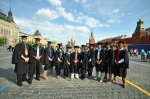 me and my groupmates at the Red Square, Moscow